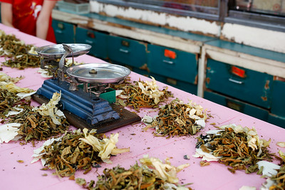 Traditional Chinese Medicine TCM, Chinatown, Bangkok