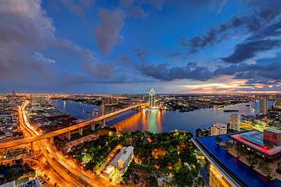Sky High Over Bangkok, Rama IX Bridge & Infinity Pool (2)