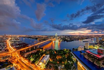 Sky High Over Bangkok, Rama IX Bridge & Infinity Pool (2)