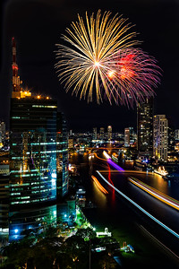 Bangkok New Years Fireworks (2)