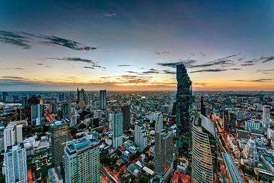Sathorn Road & MahaNakhon CBD Cityscape, Bangkok (2)