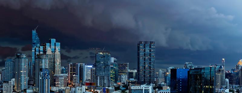 Evening Storm in Bangkok