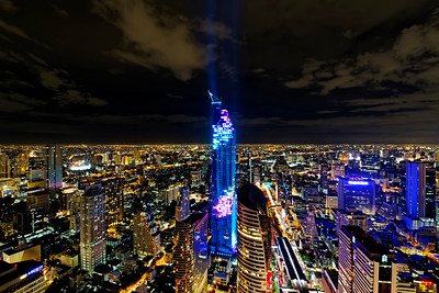 Mahanakhon Tower Lighting 2016 (1)