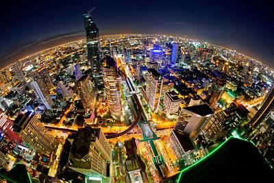 Bangkok Cityscape Vertigo