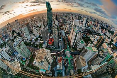 Sathorn Road & MahaNakhon CBD Cityscape, Bangkok (1)