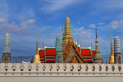 Temple of Emerald Buddha Bangkok (Exterior Wall) (2)