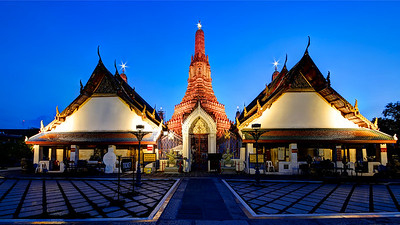 Wat Arun Blue Hour