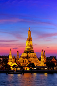 Wat Arun at Dusk (Temple of Dawn)