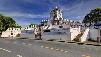 Phra Sumen Fort, Phra Athit Road, Bangkok