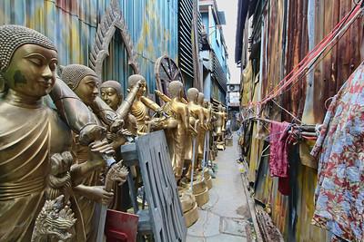 Buddha Street - Buddhas in the Alley #1