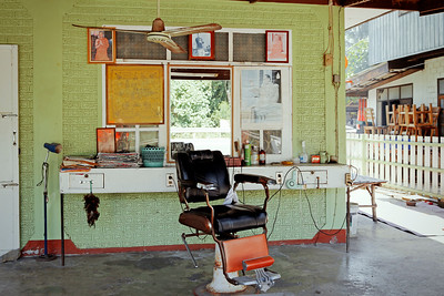 Old Style Barbers Chair, Thailand