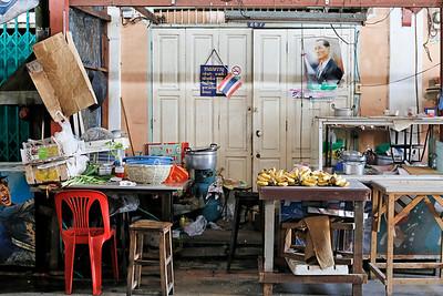 Bangkok Market Scene