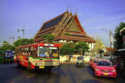 No 25 is Fast Approaching, Wat Po, Bangkok