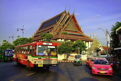 No 25 is Fast Approaching, Wat Po, Bangkok