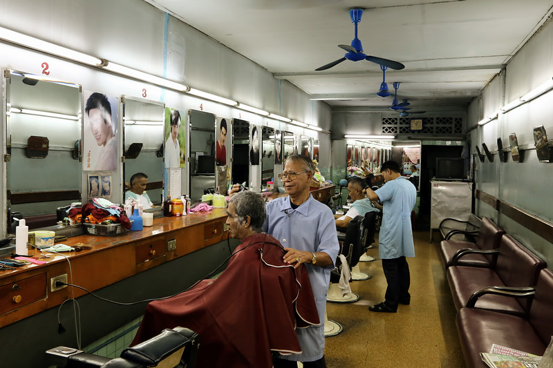Old School Barber, Bangkok
