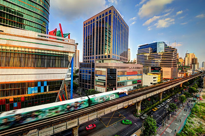 Upper Level BTS, Sukhumvit Road,  Bangkok