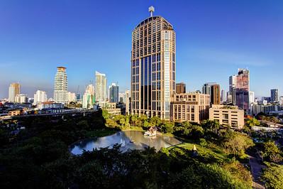 Queen's Park Skyline and Emporium Tower, Bangkok