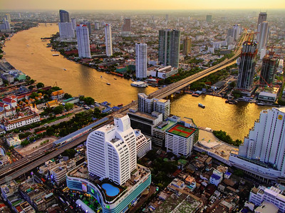 Golden River, City on Fire, Bangkok