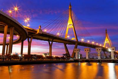 Bhumibol Mega Bridge, Bangkok, Thailand (4)