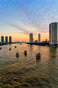 Bangkok River Golden Sunset & Hotel Shuttle Boat(s) (2)
