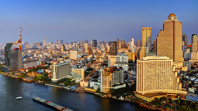 Bangkok Riverscape, 5 Star Hotels