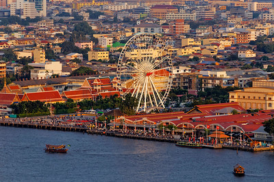 Asiatique & Big Wheel, Bangkok