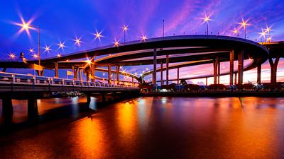 Bhumibol Mega Bridge, Bangkok, Thailand (3)