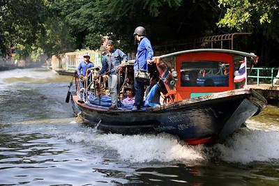 Canal Express Boat, Bangkok