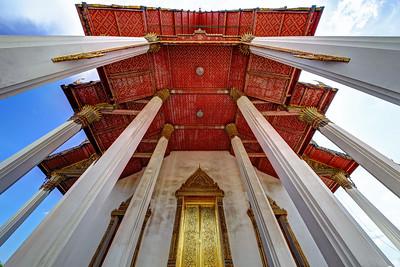 Wat Suthat Thep Wararam (Temple), Bangkok (2)