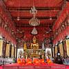 Morning Prayers,  Wat Saket, Bangkok