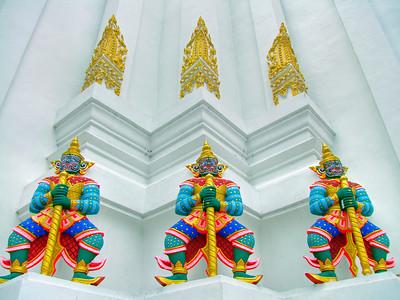 Temple Guardians, Wat Phitchaya Yatikaram Worawiharn edit