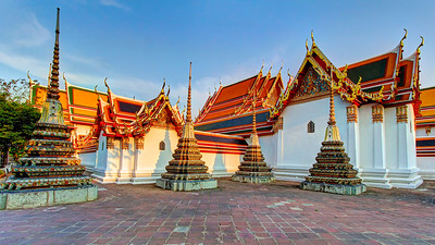 Four, Wat Phra Chetuphon (Wat Po),  Bangkok