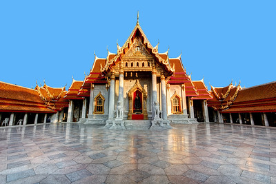 The Marble Temple, Wat Benchamabophit, Bangkok