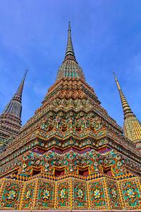 Wat Po Chedi Spires