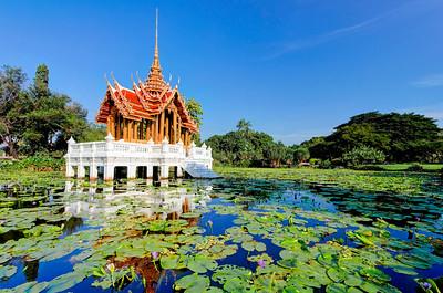 Lotus Pond, Royal Pavilion (2)