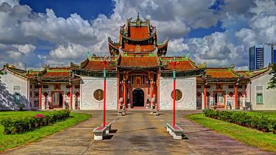Wat Pho Man Khunaram Chinese Temple, Bangkok (1)