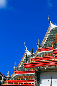 Thai Temple Roof Design (Angels) (2)