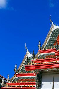 Thai Temple Roof Design (Angels) (2)