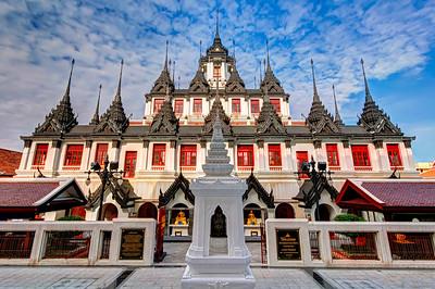 Loha Prasat (Metal Castle), Wat Ratchanatdaram,  Bangkok (2)