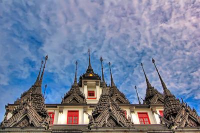 Loha Prasat (Metal Castle), Wat Ratchanatdaram,  Bangkok (3)