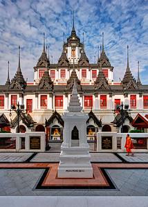 Loha Prasat (Metal Castle), Wat Ratchanatdaram,  Bangkok (1)