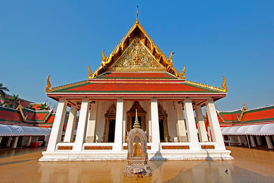 Ubosot (Prayer Hall) of Wat Saket,  Bangkok (1)
