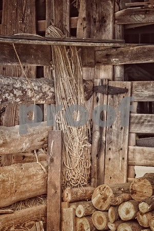 Rope In Barn