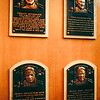 First HOF inducties plaques (4 of 5)