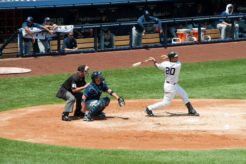 Jorge Posada batting