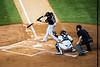 Former Yankee Melky Cabrera at bat