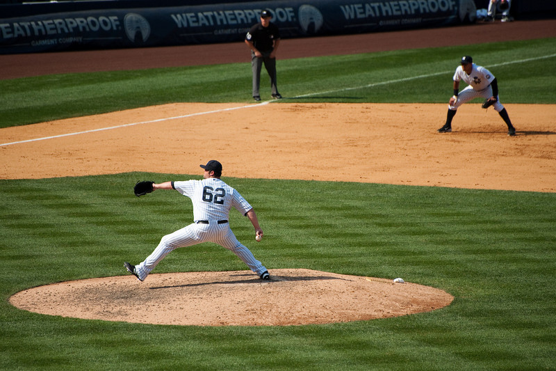 Joba Chamberlain - relieving in 8th & 9th inning