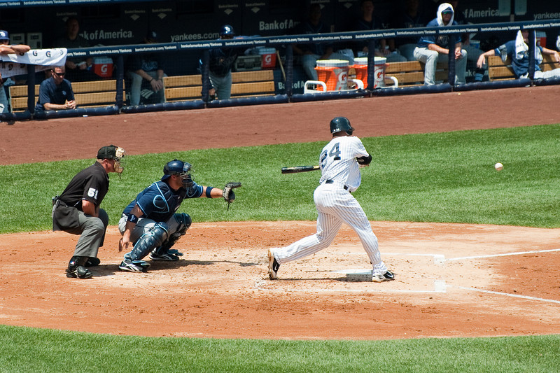 Robinson Cano at bat