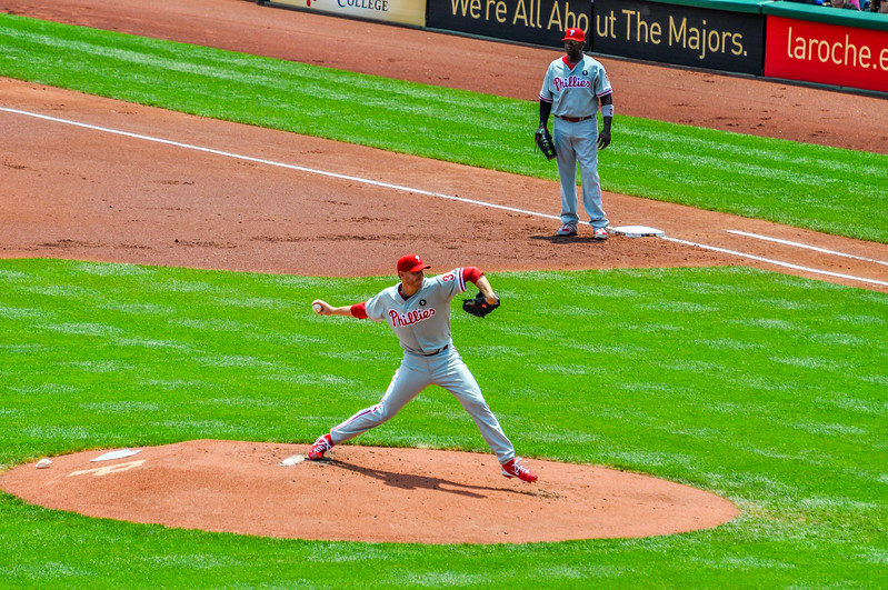 Roy Halladay Pitching
