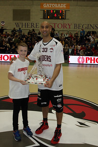 Leicester Riders v Newcastle BBL Feb 14th 2015 © Paul Davies/Paul Davies Photography 2015 NO UNAUTHORISED USE